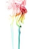 kolorowe tła dym Zdjęcia Stock