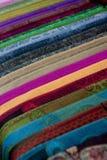 (1) kolorowe tkaniny Zdjęcia Stock