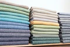 kolorowe tkaniny Obrazy Stock