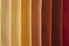 Kolorowe tkaniny brogować Obraz Stock