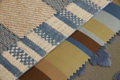 Kolorowe tkaniny brogować Zdjęcie Royalty Free