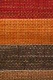 Kolorowe tkaniny brogować Fotografia Royalty Free