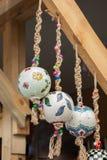 Kolorowe tureckie ceramiczne piłki jako pamiątki Zdjęcie Royalty Free