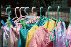 kolorowe ubrania Obraz Stock