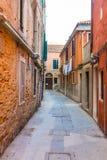 Kolorowe ulicy Wenecja fotografia royalty free