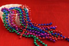 Kolorowe wakacyjne paciorkowate girlandy Zdjęcia Royalty Free