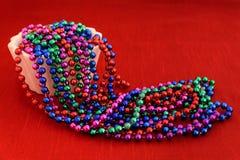 Kolorowe wakacyjne paciorkowate girlandy Obrazy Stock