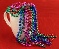 Kolorowe wakacyjne paciorkowate girlandy Obrazy Royalty Free