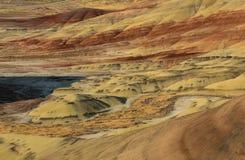 Kolorowe warstwy malujący wzgórza obraz royalty free