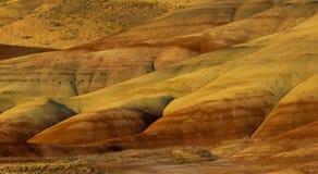Kolorowe warstwy malujący wzgórza zdjęcia royalty free
