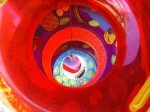 kolorowe wewnętrznych basen probówki Obraz Royalty Free