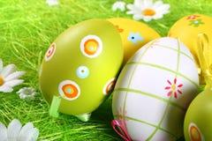 kolorowe Wielkanoc jaj Obrazy Royalty Free