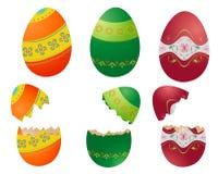 kolorowe Wielkanoc jaj royalty ilustracja