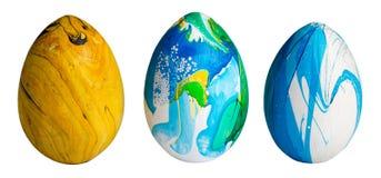 kolorowe Wielkanoc jaj Zdjęcia Stock