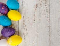kolorowe Wielkanoc jaj Obraz Royalty Free