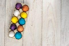 kolorowe Wielkanoc jaj Obraz Stock