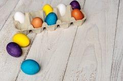 kolorowe Wielkanoc jaj Zdjęcie Royalty Free