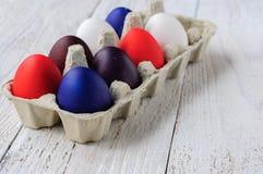 kolorowe Wielkanoc jaj Zdjęcia Royalty Free