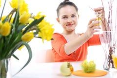 Kolorowe Wielkanocne dekoracje Obraz Royalty Free