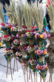 Wielkanocne palmy dla sprzedaży zdjęcie royalty free