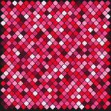 Kolorowe wielo- koloru kwadrata płytki ilustracji