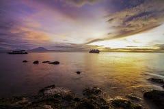 kolorowe wschód słońca Zdjęcia Stock