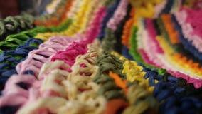 kolorowe wzór tkane Fotografia Stock