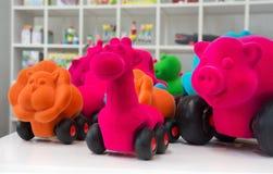 kolorowe zabawki Obraz Stock