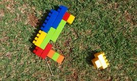 kolorowe zabawki Obrazy Royalty Free