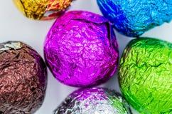 Kolorowe zawijać piłki Zdjęcie Royalty Free