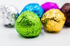 Kolorowe zawijać piłki Fotografia Stock