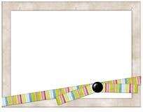 kolorowe zdjęcie ramowy wstążki Zdjęcia Royalty Free