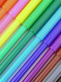kolorowe znaczników Fotografia Royalty Free