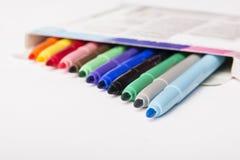 kolorowe znaczników Obraz Royalty Free