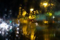 Kolorowego światła Zamazany tło obraz royalty free