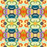 Kolorowego abstrakcjonistycznego tła falowy wzór Zdjęcie Stock