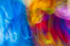 Kolorowego abstrakta światła żywego koloru zamazany tło Fotografia Royalty Free