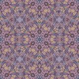 Kolorowego doodle kalejdoskopu bezszwowy wzór Zdjęcia Stock