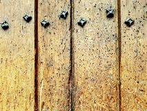 Kolorowego drewnianego płotowego niebieskiego nieba błękitna zieleń barwił stołowego kierowego kwiatu tła valentine Fotografia Stock