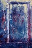 Kolorowego Grunge retro rocznika drewniana textured powierzchnia, stary drzwi Zdjęcie Stock