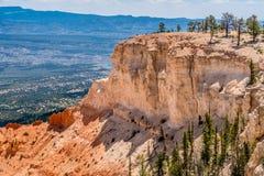Kolorowego Hoodoo Rockowe formacje w Bryka jaru parku narodowym, U Fotografia Royalty Free