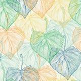 Kolorowego liścia Bezszwowy wzór Fotografia Stock