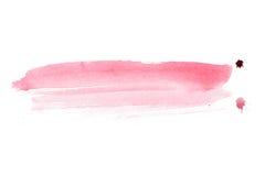 Kolorowego retro rocznika watercolour aquarelle sztuki ręki abstrakcjonistyczna farba na białym tle Zdjęcia Stock