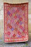 Kolorowego rocznika piękni Orientalni handmade dywany Zdjęcie Royalty Free