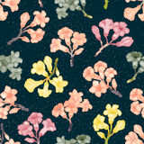 Kolorowego Rododendronowego okwitnięcia bezszwowy wzór również zwrócić corel ilustracji wektora Zdjęcie Royalty Free