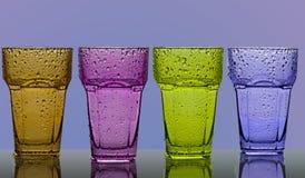 kolorowego szkła Fotografia Stock
