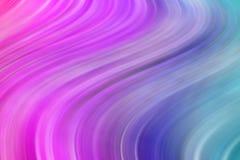 Kolorowego tła gładkie faliste linie Multicolour wyginający się i prości kształty ilustracja wektor