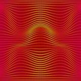 Kolorowej abstrakt linii fala bezszwowy wzór Tekstura z falistymi, bałwaniastymi liniami dla twój projektów, royalty ilustracja