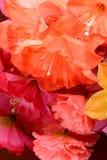 Kolorowej dekoraci sztuczny kwiat (rocznik) Zdjęcia Royalty Free