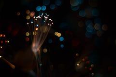 Kolorowi świeceń światła Zdjęcia Royalty Free